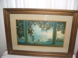 Vintage Maxfield Parrish Daybreak Framed Print in Naperville, Illinois