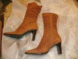 Natualizer Suede/Leather Boots Size 7m in Kingwood, Texas
