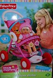 NEW Fisher-Price Little Mommy Precious Stroller in Bartlett, Illinois