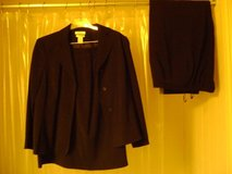 Ladies Size 18WP 3-Pc Black Suit Worn Once in Kingwood, Texas