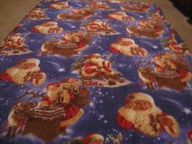 Handmade SantaClausBlanket  1 left. in Fort Bragg, North Carolina