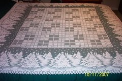 brand new white x-mas tree tablecloths in Goldsboro, North Carolina