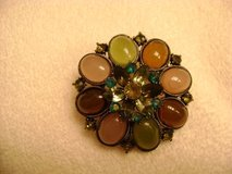 Vintage Brooch Loaded with Gemstones-Trendy! in Kingwood, Texas