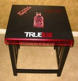 CUSTOM TRUE BLOOD Media Room Couch Side Table in Kingwood, Texas